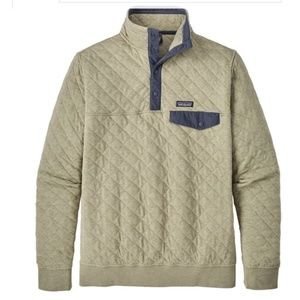Patagonia Organic Cotton Quilt Snap-T Pullover L